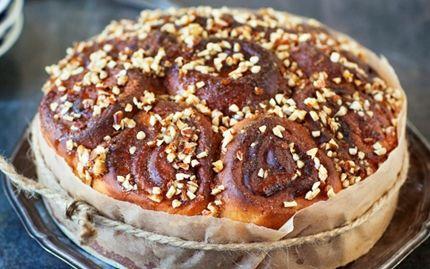 Puolukkainen piparibostonkakku on ihana versio perinteisestä bostonkakusta