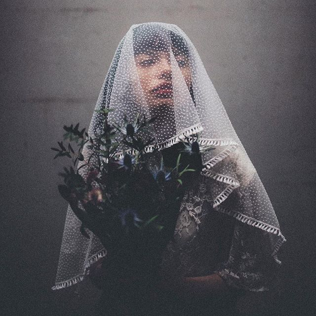 Sneek peek from our shoot with model Christine wearing Nephele Veil. We are very excited about the launch of our website with unique, handmade wedding veils for the bohemian and vintage loving bride. Photo: Wernerskapet. #wildspiritlovers
