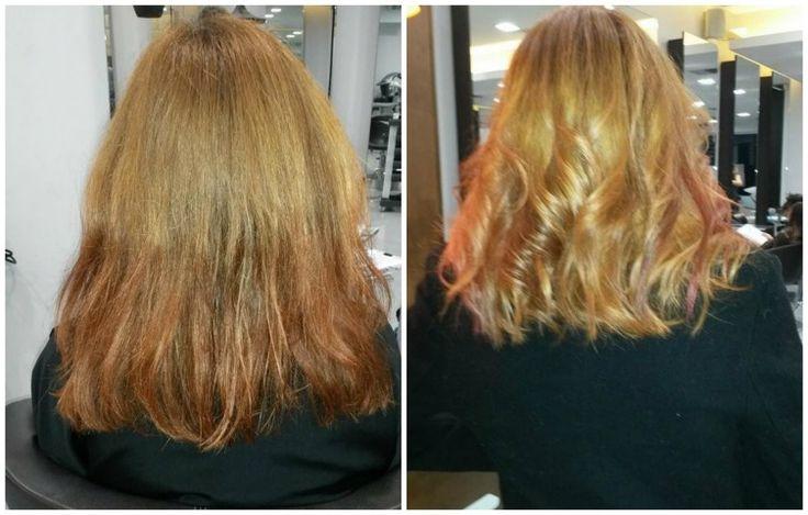 Η μεταμόρφωση  της  νικήτριας του διαγωνισμού Cut My Hair &  Staxtopouta.gr