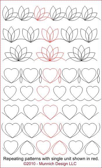 Munnich Design Quilt Recipes Digital Quilting Pattern