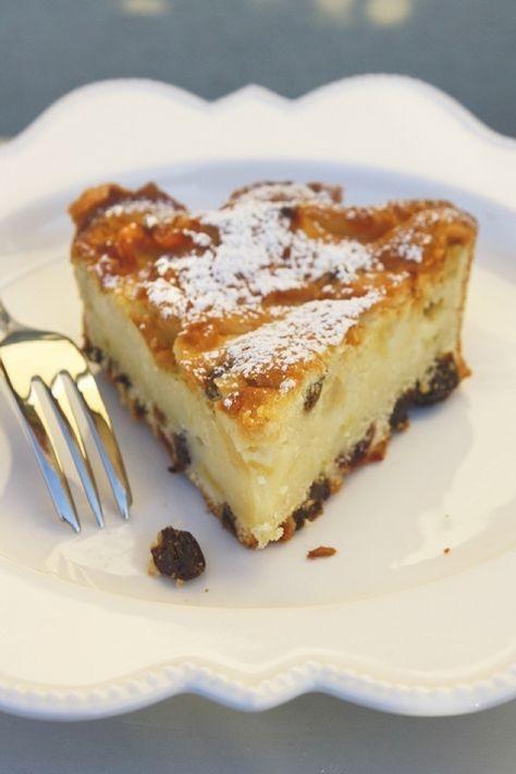 Torta leggera di mele e ricotta alla vaniglia
