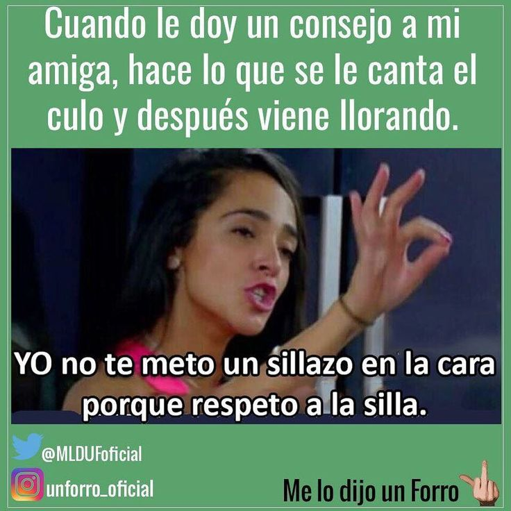 "40.1 mil Me gusta, 1,732 comentarios - Me Lo Dijo Un Forro (@unforro_oficial) en Instagram: ""#melodijounforro"""