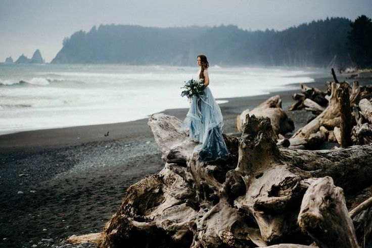 From the cover of Issue 15 of Magnolia Rouge Magazine this stunning moody bridal shoot by Cassie Rosch