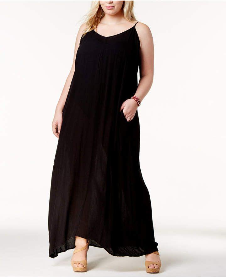 Raviya Plus Size Maxi Cover-Up Dress Women's Swimsuit