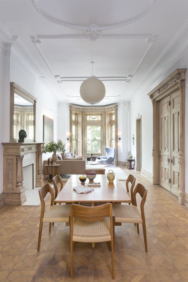 Dream home status 5 of the most beautiful nyc brownstones for Most beautiful dining rooms