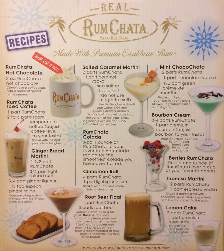 RumChata Recipes