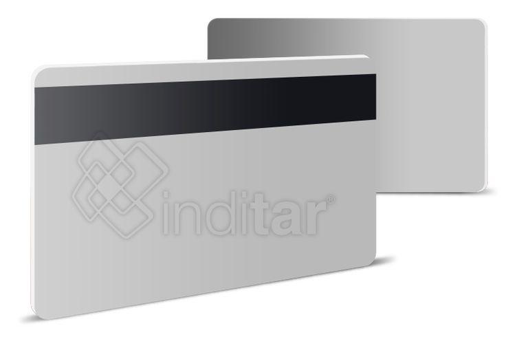 tarjetas en blanco con banda magnetica