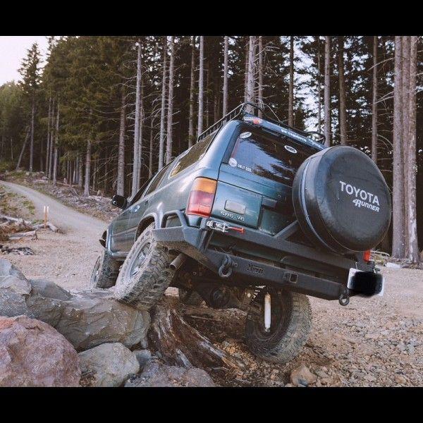 1990 1995 Toyota 4runner Rear Weld It Yourself Bumper Kit Toyota 4runner Welding Projects 4runner