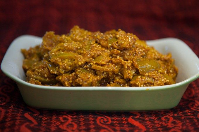 Lime pickle you won't be disappointed with.It is the perfect accompaniment for Indian food.I love this version even though the fermentation takes longer,its a healthy version.