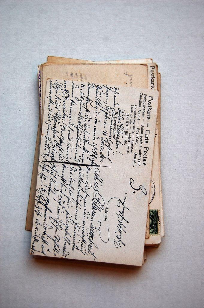 Old letters u0026 postcards 25 best cursive
