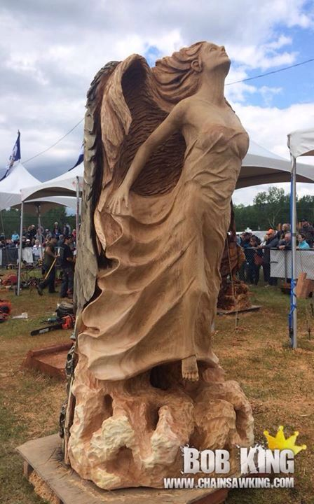 Best carvings images on pinterest tree carving