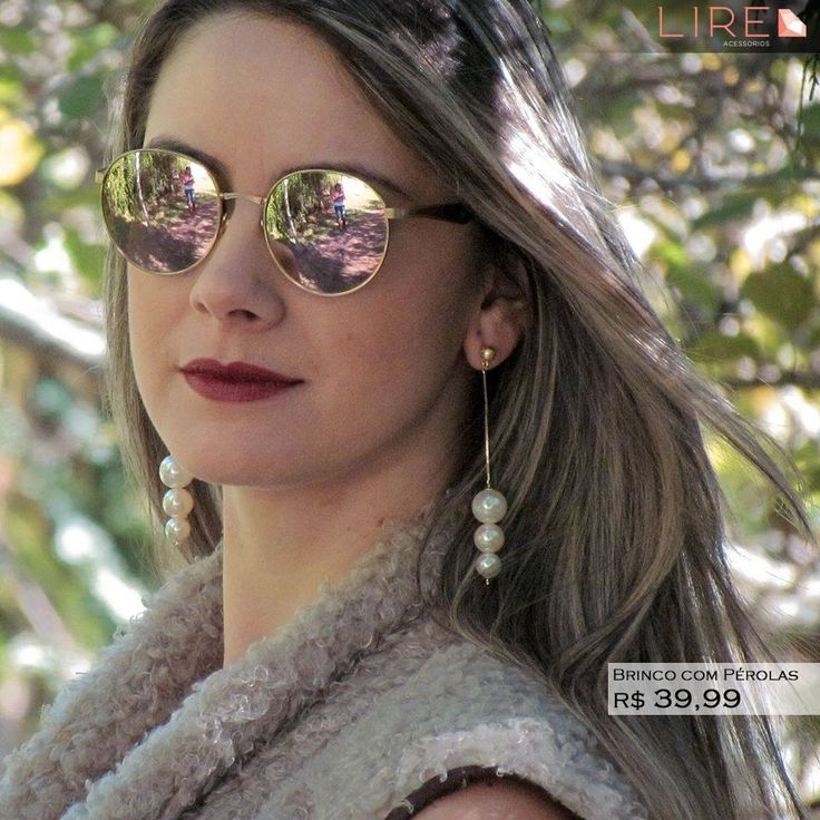 Complemente seu visual com os brincos Lire Acessórios!   Whatsapp 11 95249-6050 www.lireacessorios.com.br #acessorios #semijoias #moda #ouro #joiasfolheadas #amojoias #lookdodia #lireacessorios #amolire #instajoia #instasemijoia #folheadoaouro #tendencia #estilo #folheados #euquero #love #cute #fashion #beauty #jewelry #glam #trendy #fashionista #accessory #instajewelry #stylish #fashionjewelry #stile #brincos