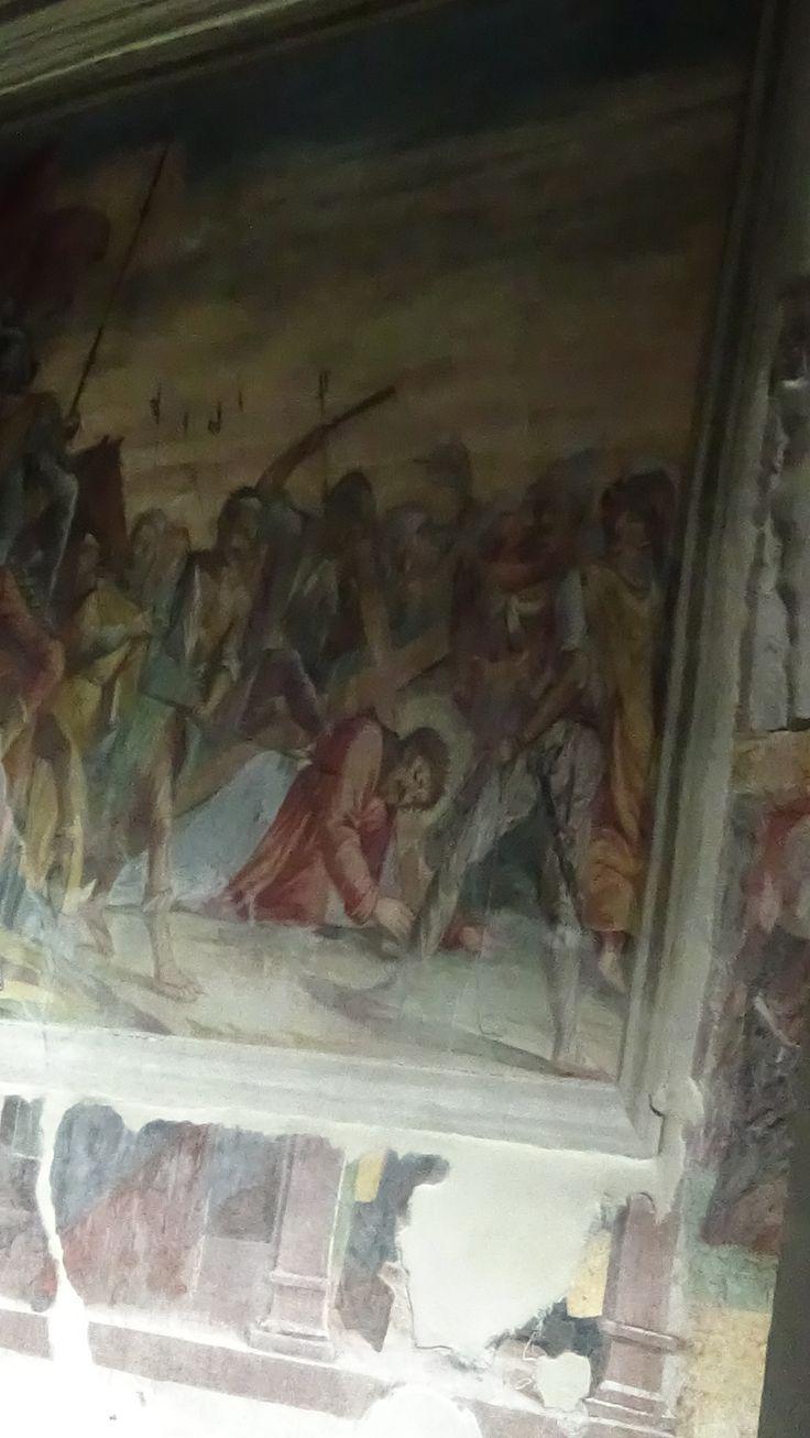 """Affresco"" inside Market Church"