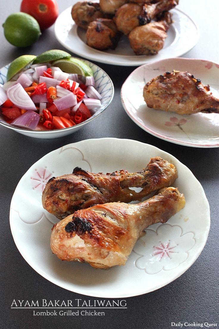 Ayam Bakar Taliwang – Lombok Grilled Chicken