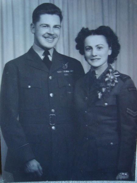 Chuck & Olive, my Grandparents