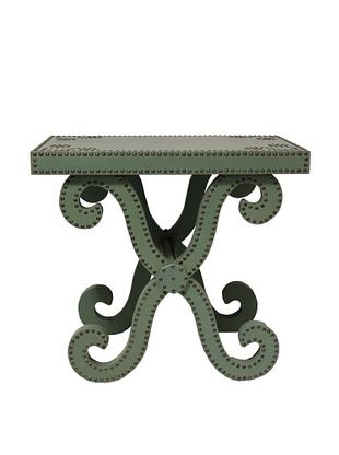 Lisbon Accent Table, Turquoise