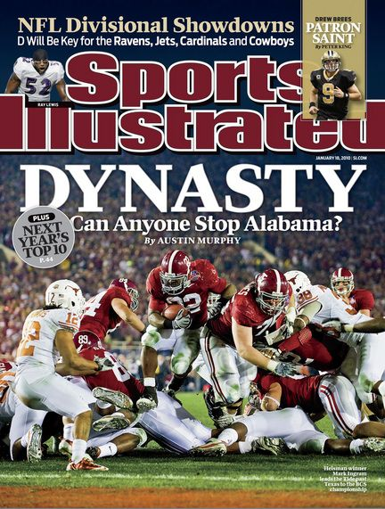 alabama football si cover