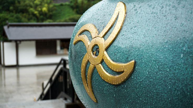 Foot Detail Reclining Buddha Nanzoin Temple Fukuoka