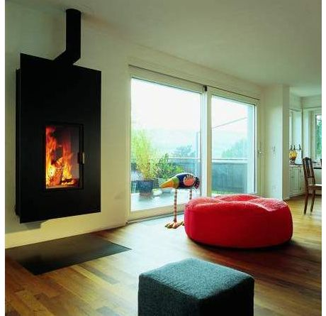Images Of Rooms With Modern Wood Stoves | ... Stoves By Caminetti Free  Standing