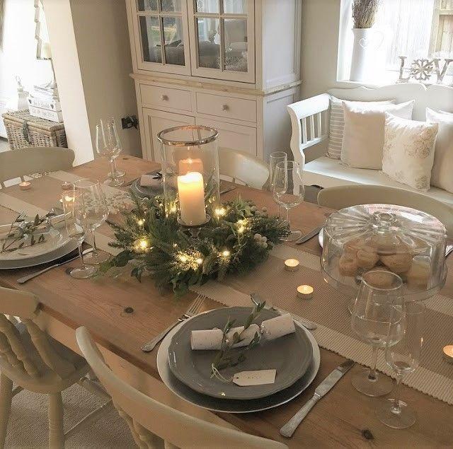 15 Christmas Dinner Table Decoration Ideas For Your Festive Feast