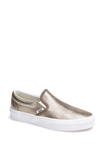 Vans Metallic Slip-On Sneaker