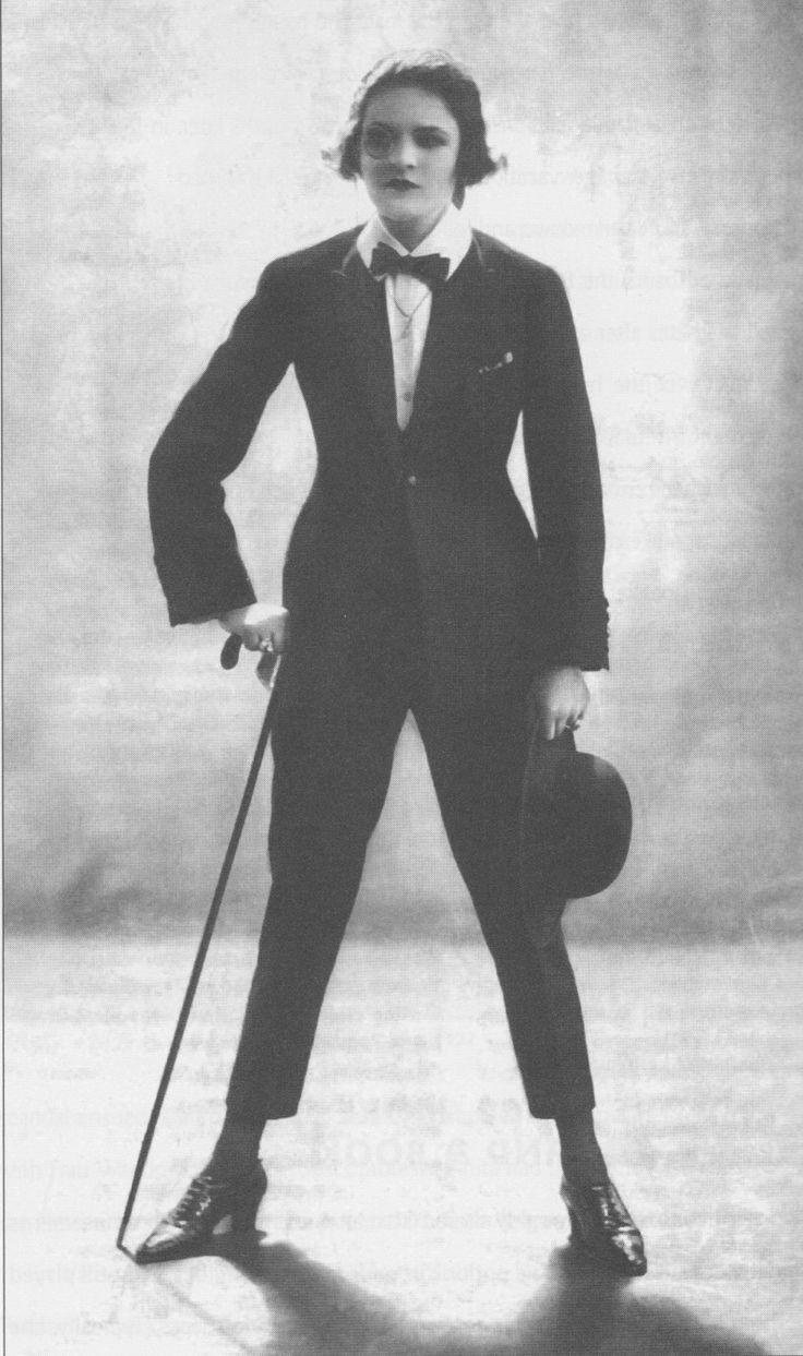 Cross dressing was avant garde in 1920's Weimar Republic