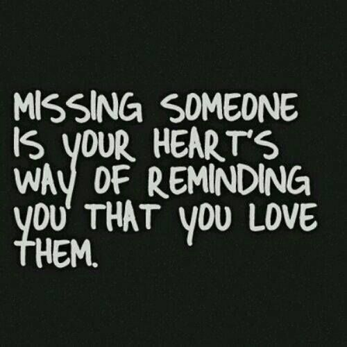 And people seem to think I didn't love you. But I think of you every single day, regretting what happened. I miss you. Hope your life is going wonderfully.