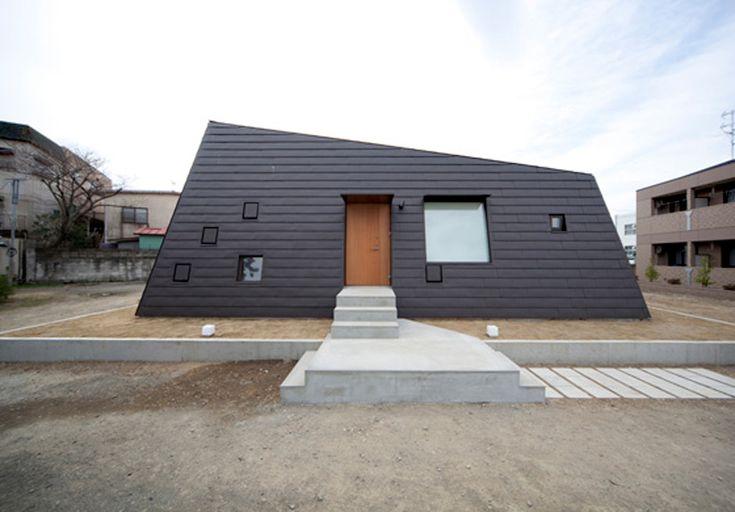 okuno architects planning house in kamogawa, japan