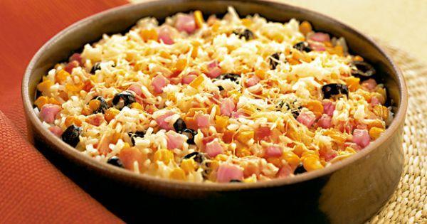 Aprenda a preparar a receita de Arroz ao forno