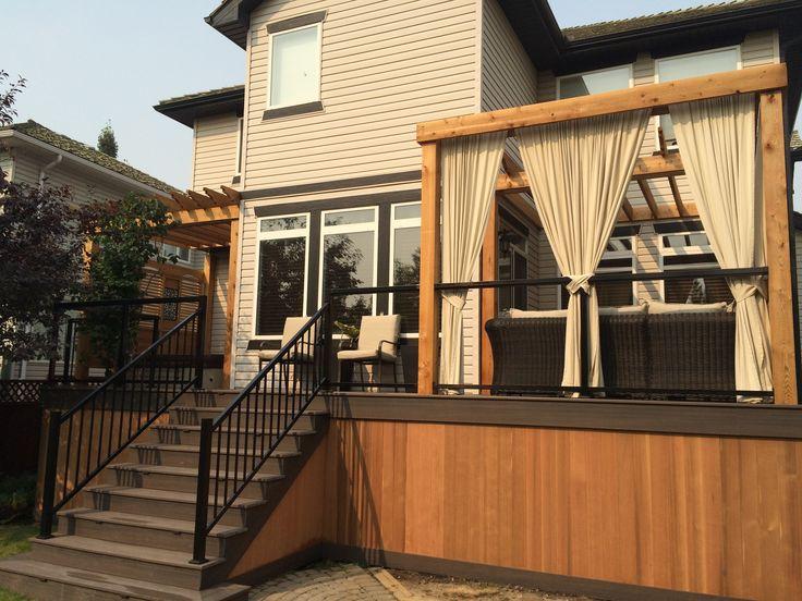 53 best Decks Calgary by Deckrative Designs 2015 images on Pinterest ...