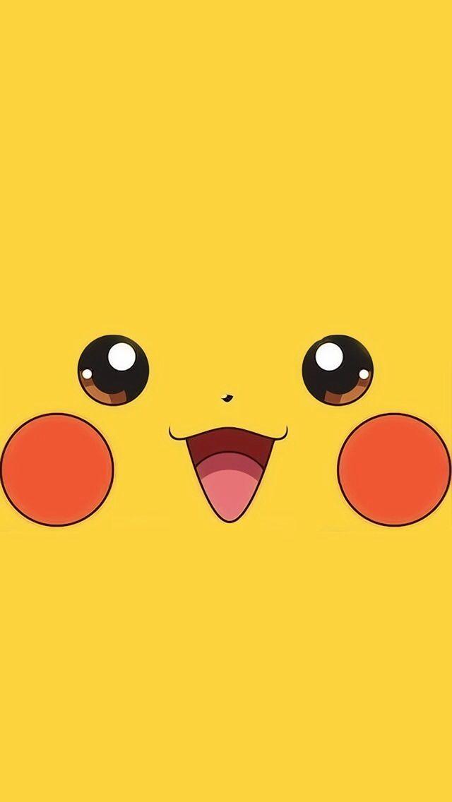 Tap And Get The Free App Art Creative Cartoon Pokemon Minamalistic Yellow Yellow Wallpaper App Cont Pikachu Wallpaper Cute Cartoon Wallpapers Pikachu Art
