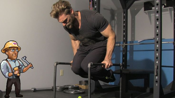 Homemade parallettes best for dips rows and abs
