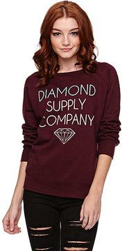Diamond Supply Co Pullover Crew Fleece on shopstyle.com