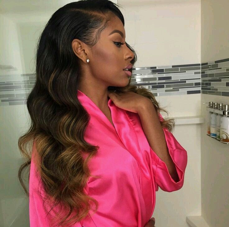 hairstyles with one short side : ... Side Part Weave on Pinterest Keyshia Cole, Sew Ins and Hair Weaves