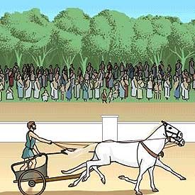 The BBC offers a great interactive website on The Olympic Games and Ancient Greeks for primary grades.