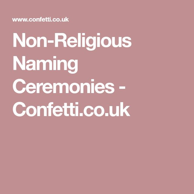 25 Unique Naming Ceremony Ideas On Pinterest Name Day