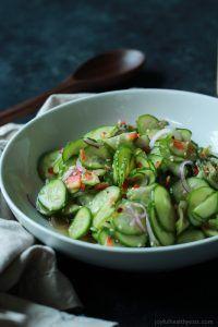 Азиатский Салат из огурцов | Легкий ужин Рецепты | Быстрый легкий Ужин Идеи | Easy Здоровые Рецепты