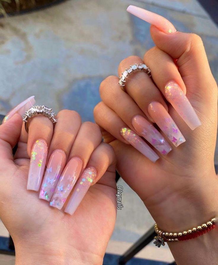 Pin by tanya a. on nailsss   Nails, Long nails, Long