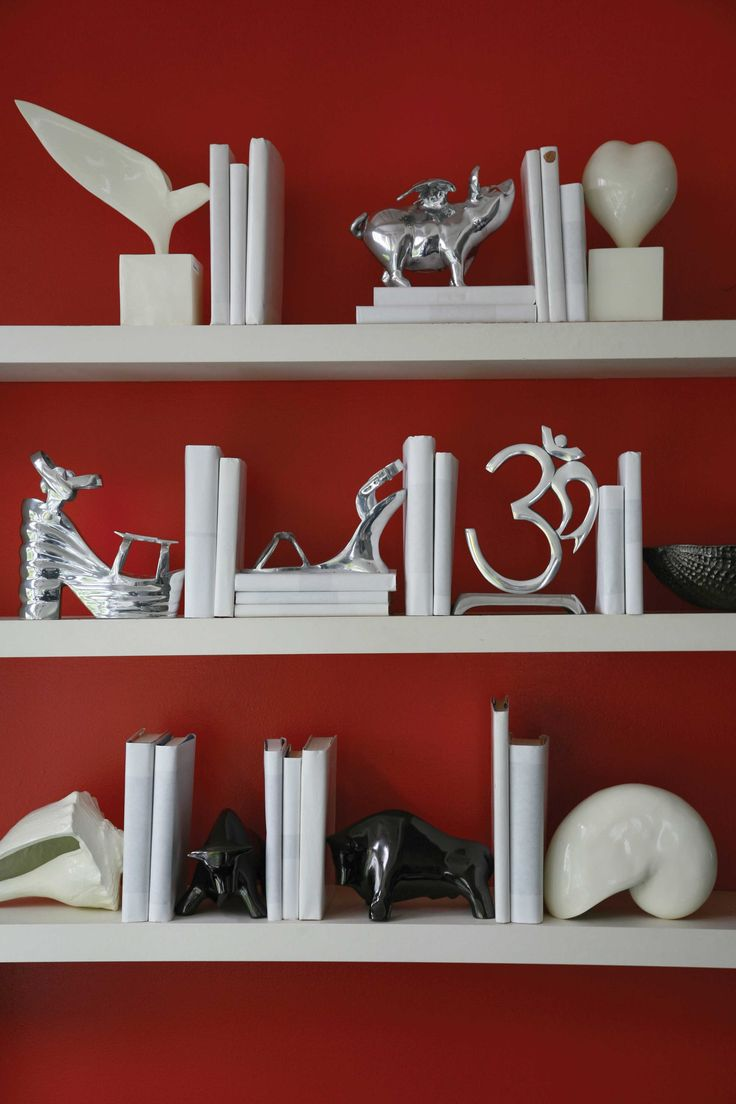 Spice up your Shelves with themed Bookends by Nima Oberoi Lunares