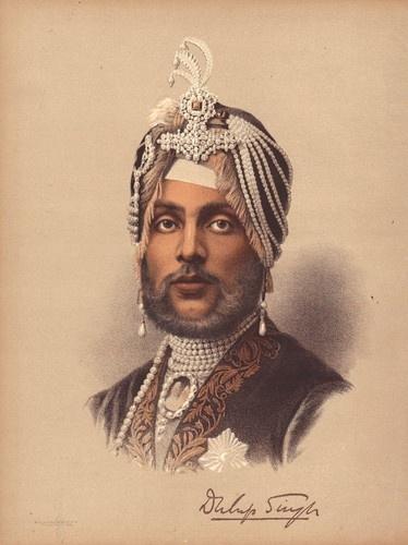 Sikh King MAHARJAH DULEEP SINGH