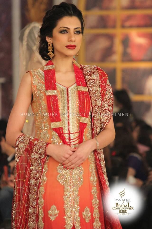 Bridal & Groom Dress Collections Pantene Bridal Couture Week Lahore 2013 (8)
