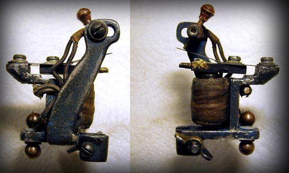 Bernhard's Single coil Tattoo Machine , tattoo ,tattoo supply
