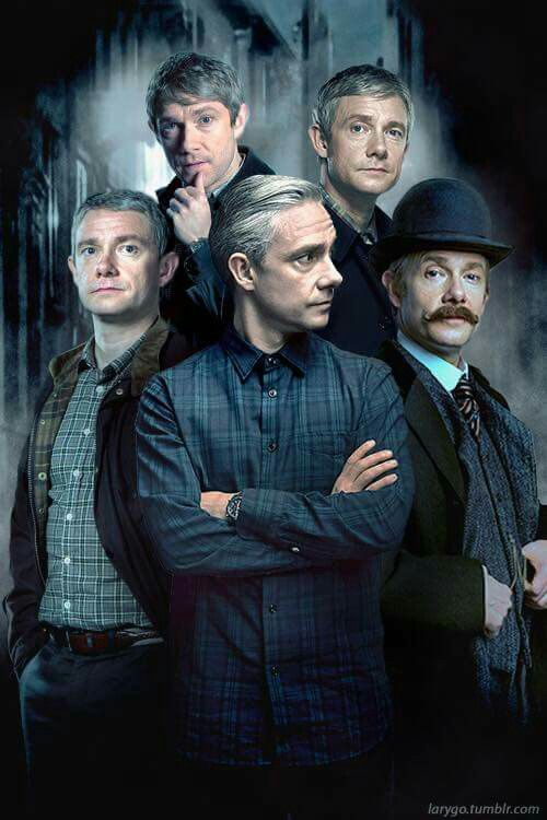 John Watson- Martin Freeman                                                                                                                                                                                 More