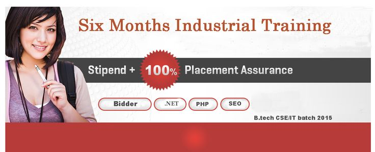 Best Six months industrial training by Satguru Technologies.