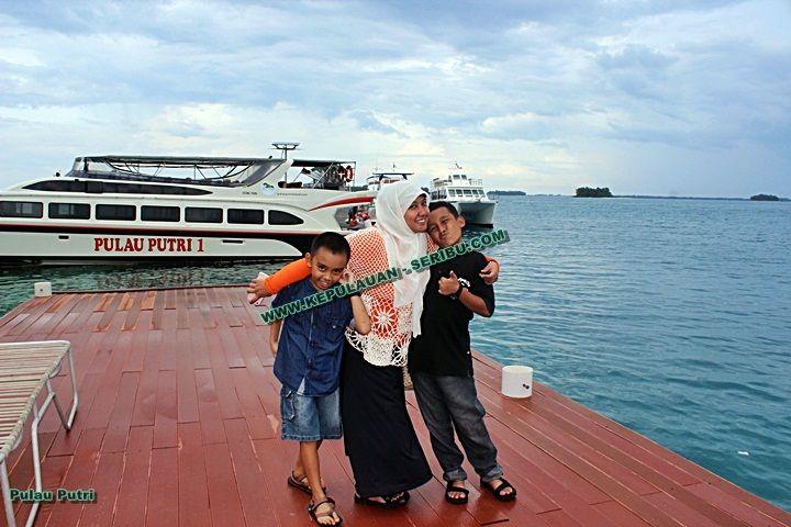 Pulau Putri Wisata Bagian Utara Jakarta