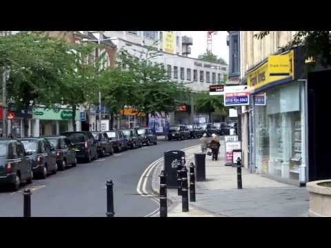 Nottingham City Centre Guided Tour drive thru plus commentary - YouTube