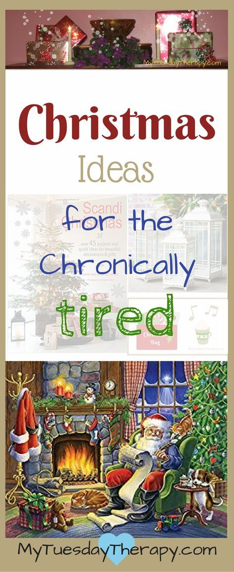 Get into the Christmas Spirit with these tips! Chronic Illness can be hard around Christmas but these ideas will help you to create a Magical Christmas for yourself or your loved one who has a chronic illness. #chronicillness #christmas #adrenalfatigue #chronicfatigue #mytuesdaytherapy via @www.pinterest.com/mytuestherapy