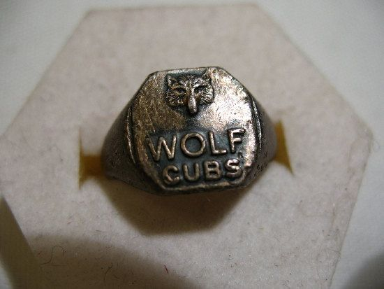 Vintage Wolf Cubs Ring