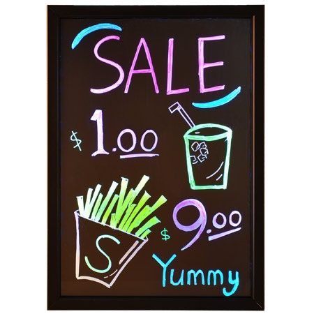 16x24 inch Menu Flashing Neon Sign LED Writing Board