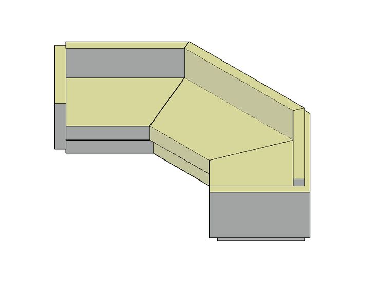 Corner couch - FREE 3D CAD Models -CAD blocks free